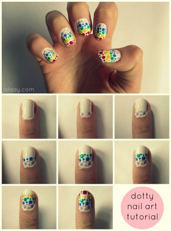 Amazing Nail Tutorials For Short Nails - DIYCraftsGuru