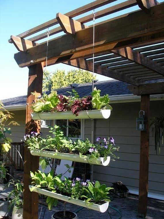Hanging Garden Ideas 26 creative ways to plant a vertical garden how to make a vertical garden 04 Diy Vertical Garden