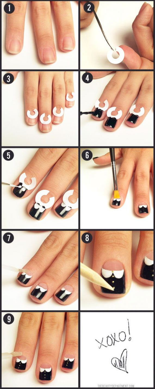 09-Nail-Tutorials-For-Short-Nails