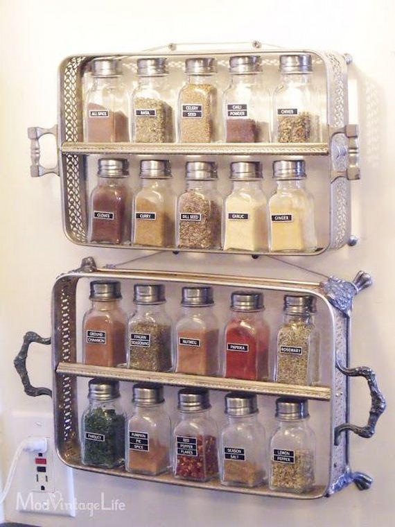 Kitchen Storage Diy Captivating Small Kitchen Diy Organization Tips  Diycraftsguru Design Decoration