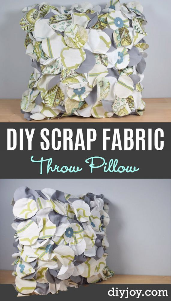 04-Fabric-Scrap-Rosette-Pillow