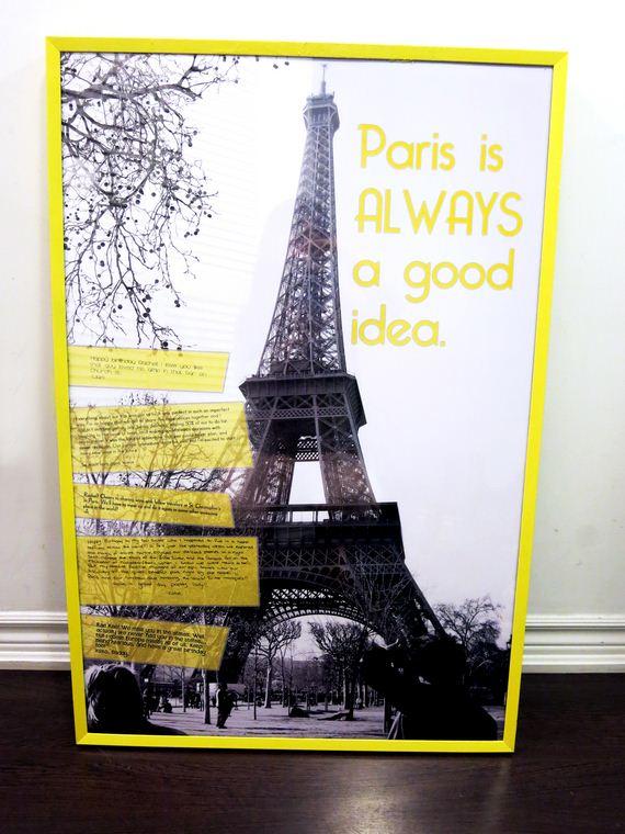 06-DIY-Poster-Frame