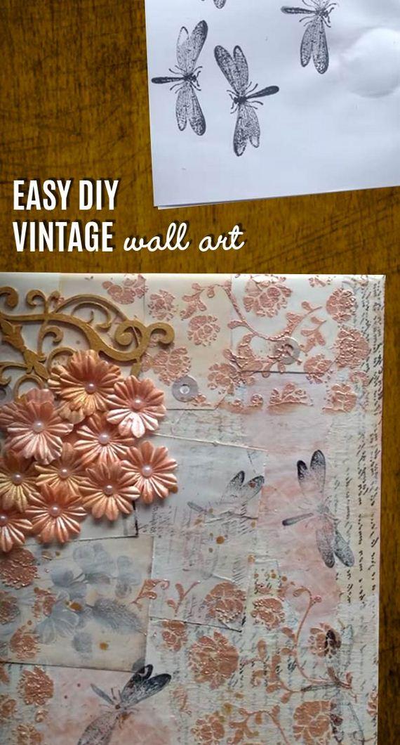 Awesome diy wall art ideas diycraftsguru - Craft ideas for wall art ...