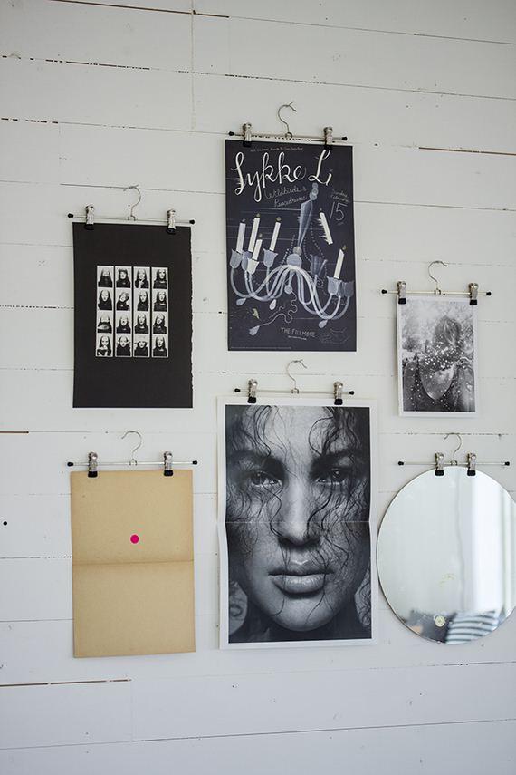 14-DIY-Poster-Frame