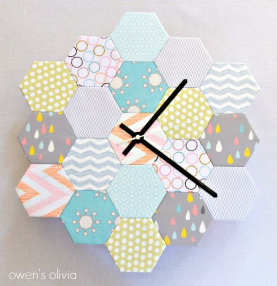 18-Fabric-Scrap-Rosette-Pillow