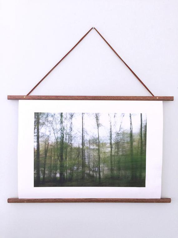 22-DIY-Poster-Frame