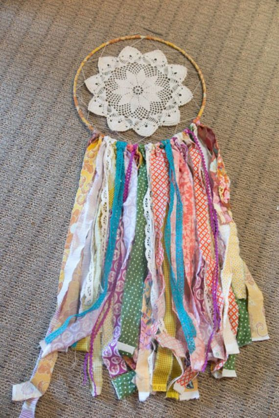 27-Fabric-Scrap-Rosette-Pillow