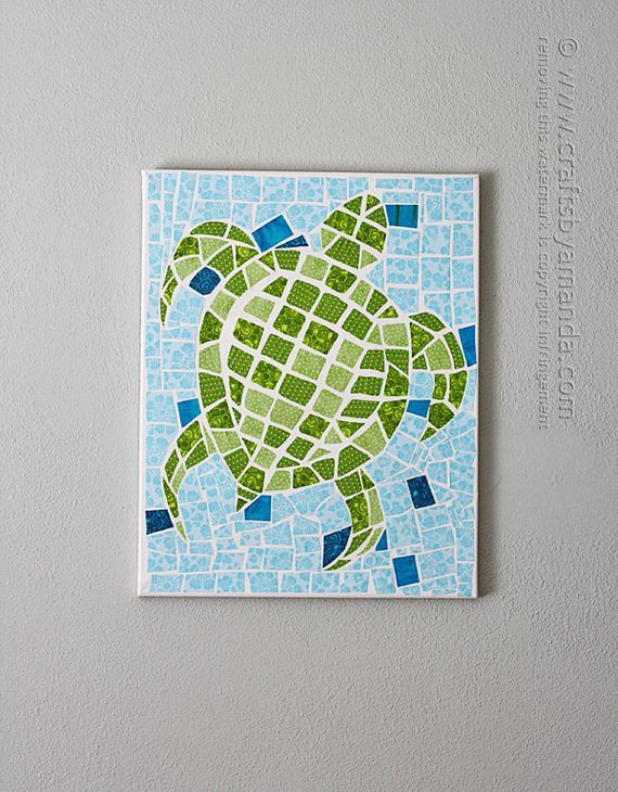 Cool canvas art projects diycraftsguru for Cool diy art projects
