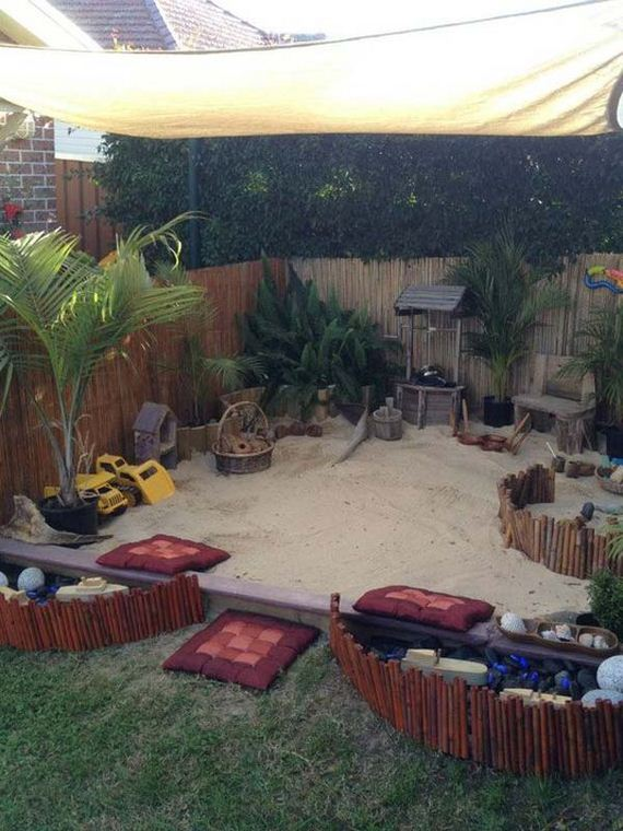 Backyard Playground Diy : How to Turn The Backyard Into Fun and Cool Play Space for Kids