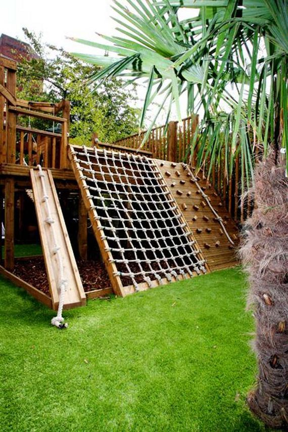 How to Turn The Backyard Into Fun and Cool Play Space for Kids