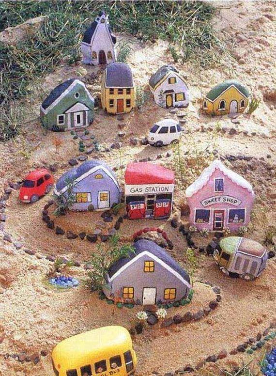 05-Mini-Garden-Stone-Houses