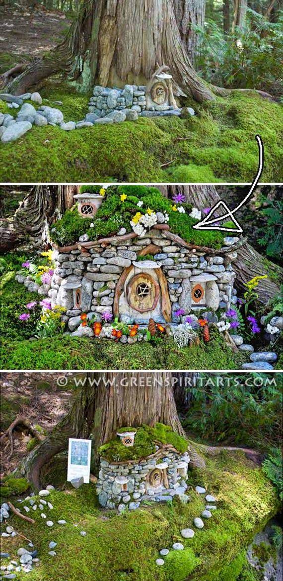 11-Mini-Garden-Stone-Houses