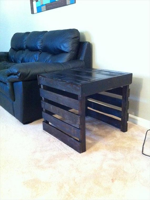 Cool diy end tables diycraftsguru for Cool homemade furniture