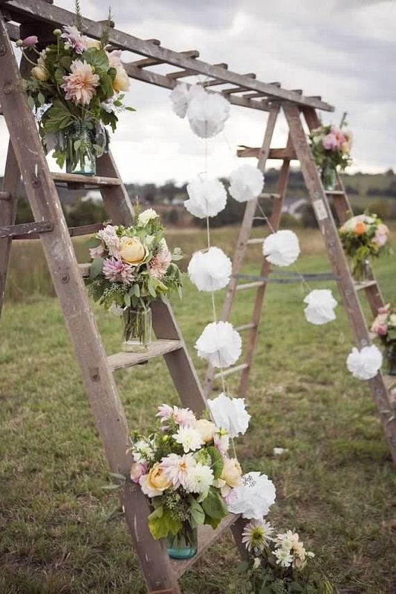 Awesome diy vintage outdoor wedding ideas diycraftsguru for Outdoor wedding decorating ideas