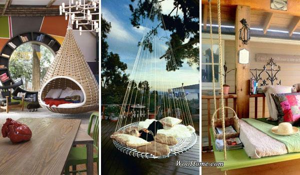 Floating Outdoor Bed awesome outdoor hanging beds - diycraftsguru