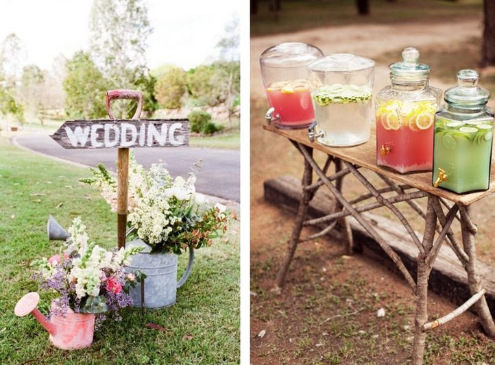 Pinterest diy home decor ideas on a budget for Pinterest outdoor wedding ideas