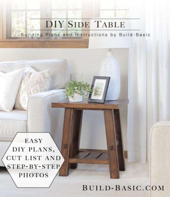35 Diy End Tables Diycraftsguru