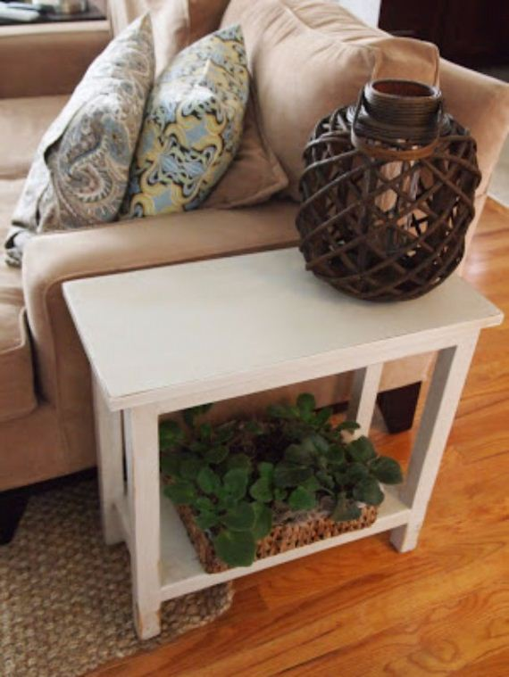 35 Diy End Tables Diycraftsguru