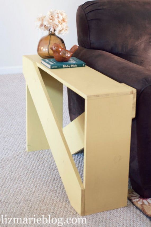 35 DIY End Tables - DIYCraftsGuru