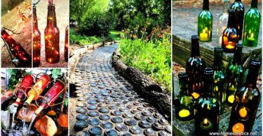 1-19-Spectacular-Sustainable-DIY-Wine-Bottle-Outdoor-Decorating-Ideas
