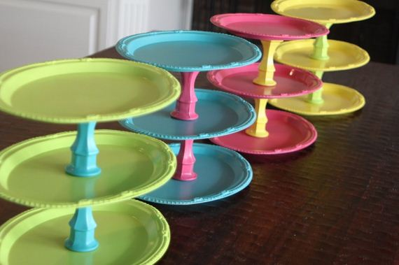 Perhaps you liked the idea of the tiered baking stand but you don't have  the tart tins that the other idea required? Don't worry! You can make one  just as ...