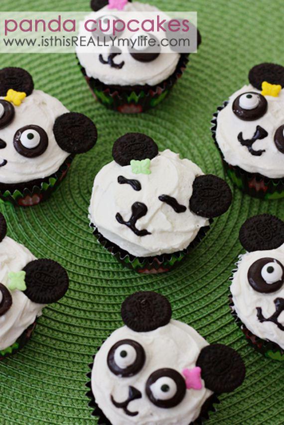 23-Panda-Cupcakes