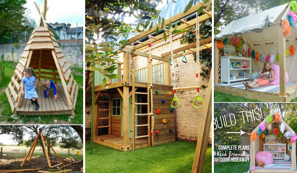 Amazing Backyard Playhouses For Your Kids Diycraftsguru