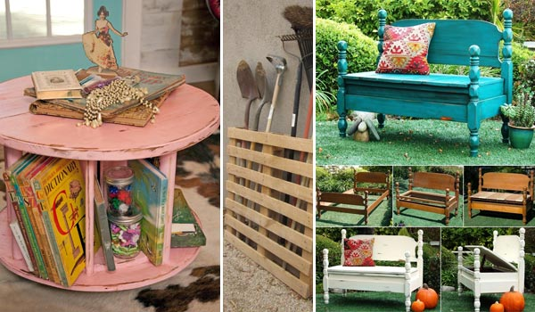 Creative Ways To Repurpose Old Furniture Diycraftsguru