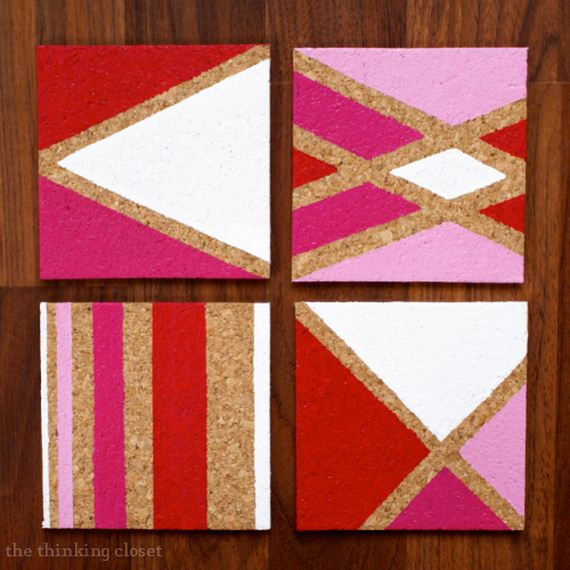 Awesome diy coasters diycraftsguru for Homemade coaster ideas