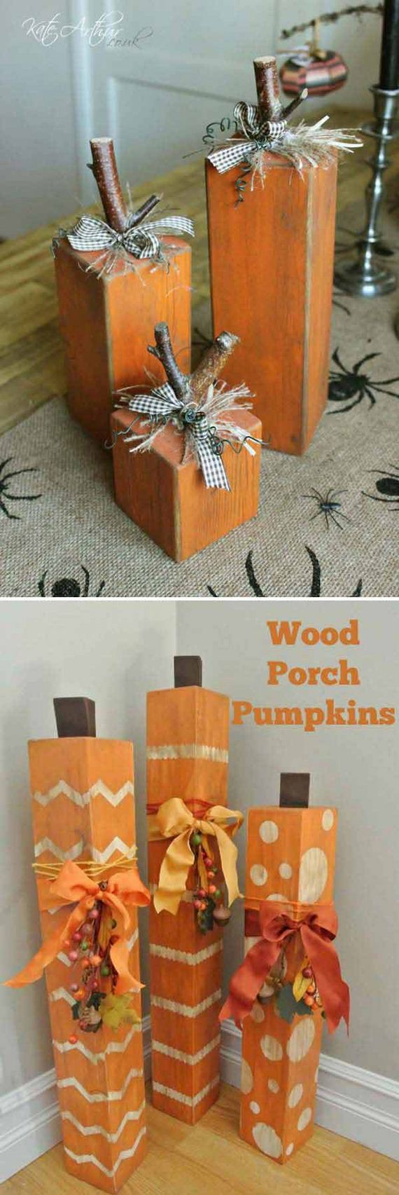 Diy halloween decorations from reclaimed wood diycraftsguru How to make easy halloween decorations at home