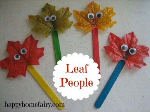 13-fun-crafts-involving-leaves