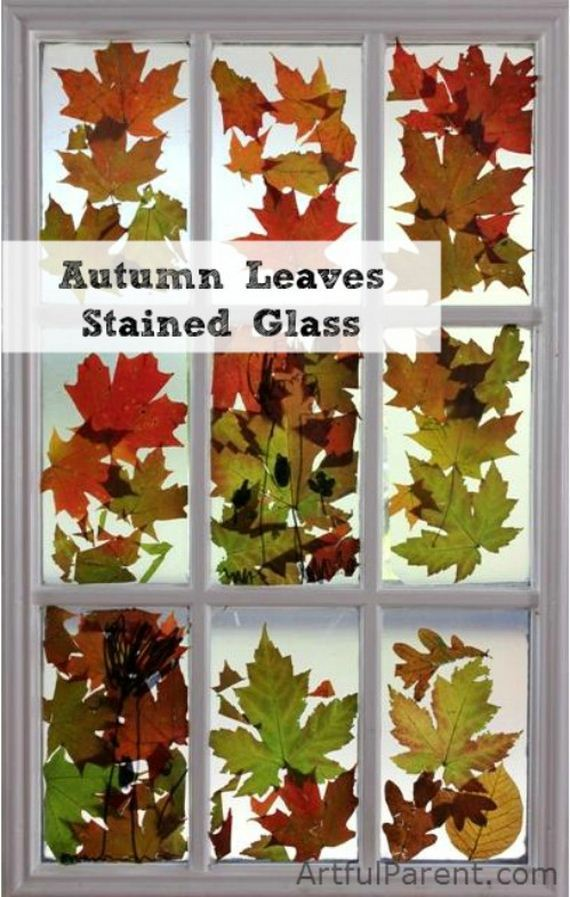 14-fun-crafts-involving-leaves