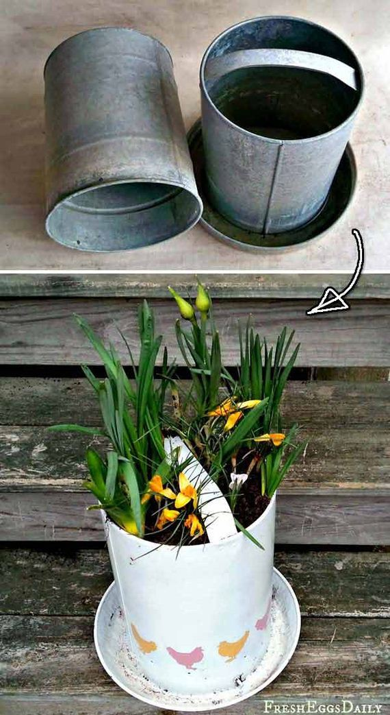 How To Repurpose Chicken Feeders Diycraftsguru