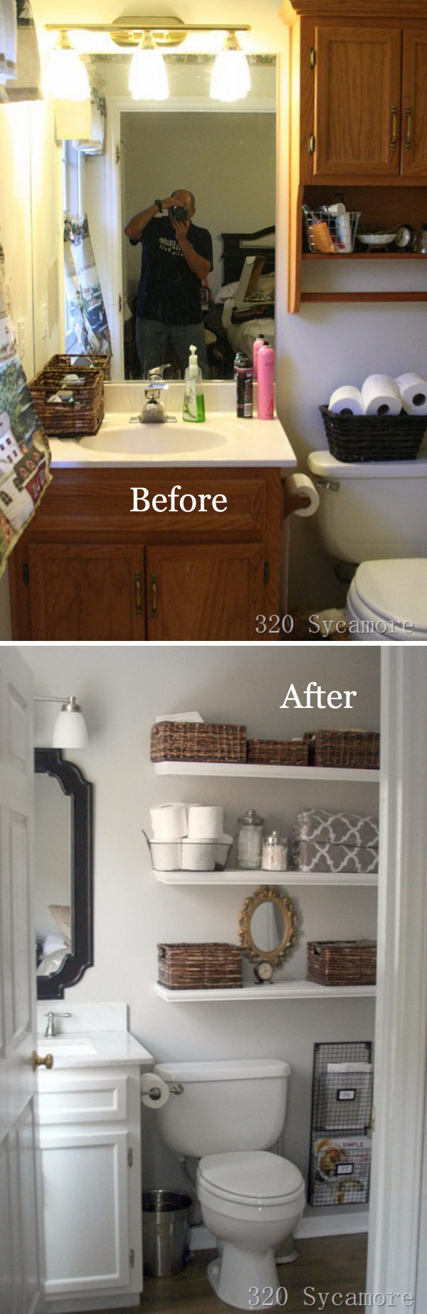 Amazing Bathroom Makeovers DIYCraftsGuru - Small master bathroom makeover ideas