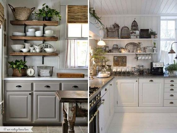 17-vintage-touch-to-your-kitchen