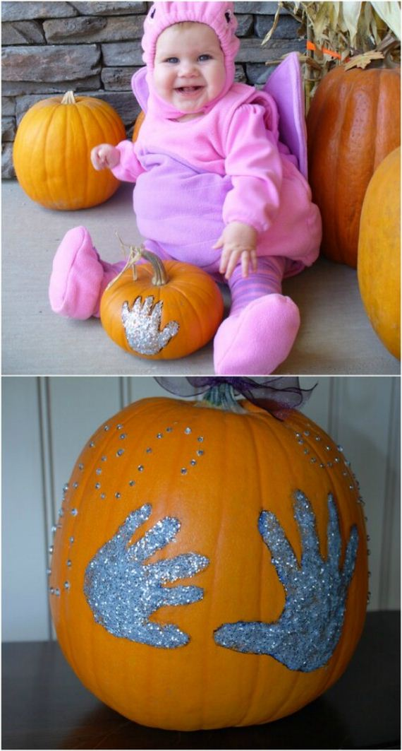 2-hand-printed-pumpkins