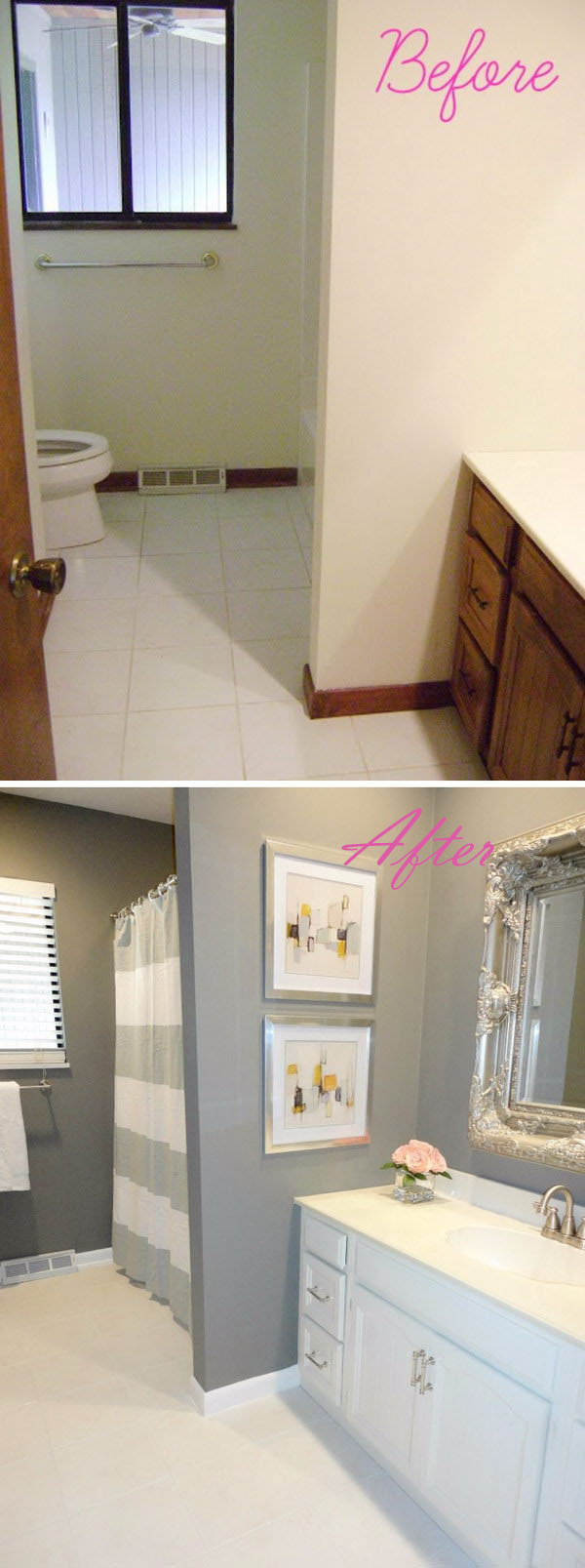 amazing bathroom makeovers - diycraftsguru