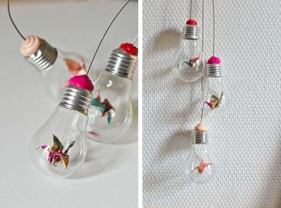Cool and easy light bulb crafts diycraftsguru for Light bulb diy projects