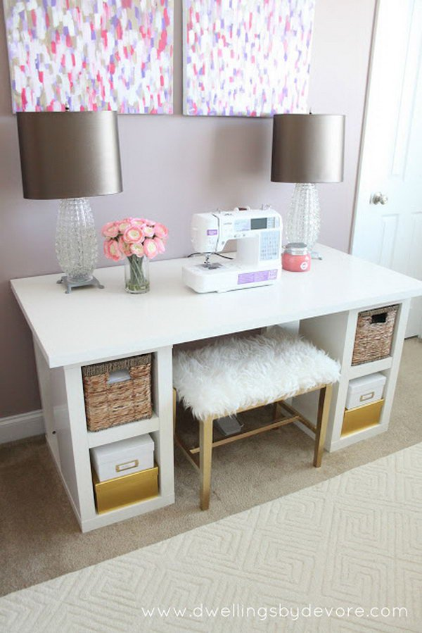 Amazing IKEA Desk Hacks DIYCraftsGuru