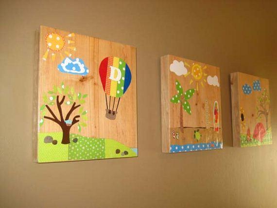 27-diy-wall-art-for-kids-room