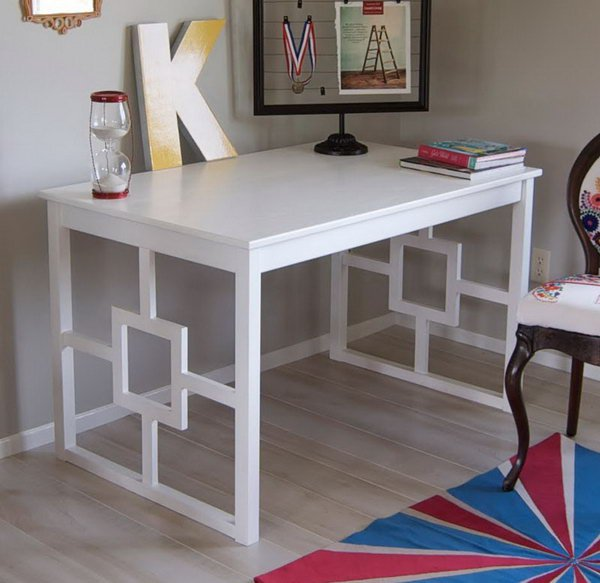 See how Katie turned a basic and unfinished IKEA Ingo dining table ...