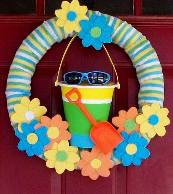 Awesome Summer Wreath Projects Diycraftsguru