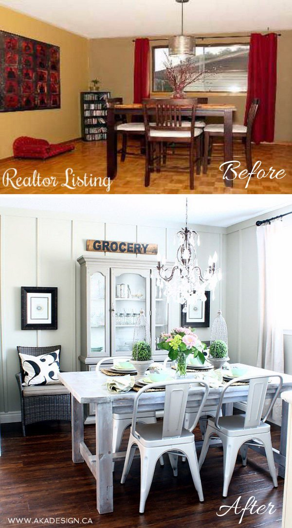 11 12 Dining Room Makeover Ideas Tutorials