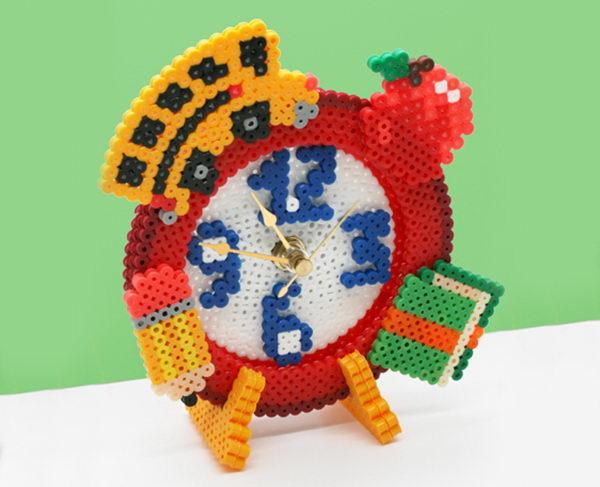 12-clock-perler-bead