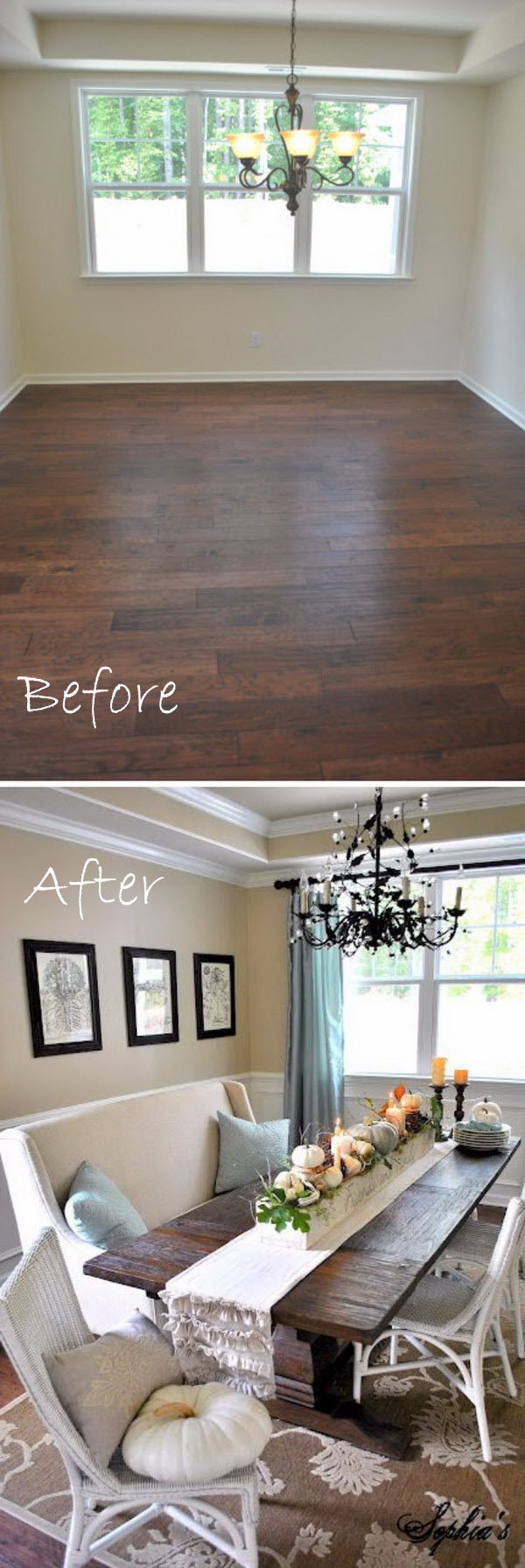 17-18-dining-room-makeover-ideas-tutorials