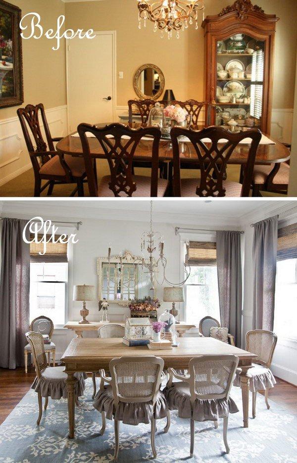 Cheap Dining Room Makeover Tutorials - DIYCraftsGuru