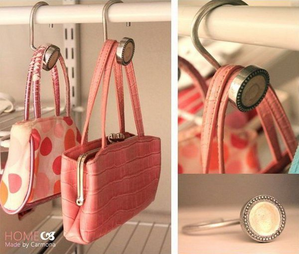 Clever organization ideas diycraftsguru Ideas for hanging backpacks