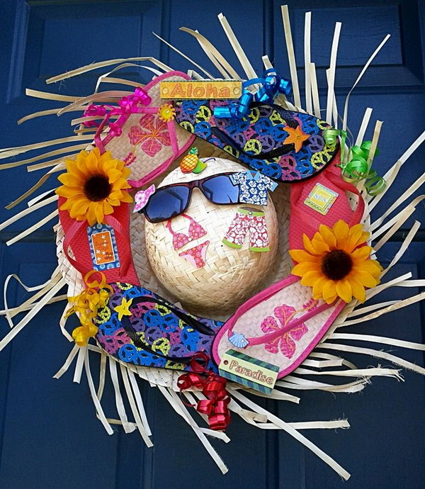 21-summer-wreath-tutorials-ideas