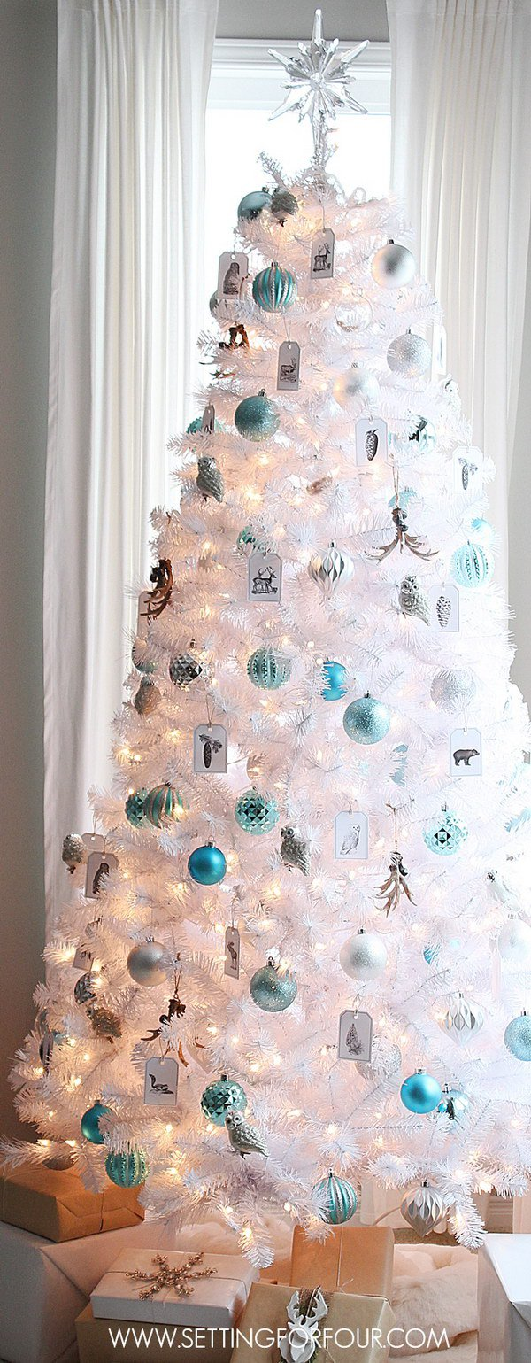 Blue christmas trees decorating ideas - 3 Christmas Tree Decoration Ideas