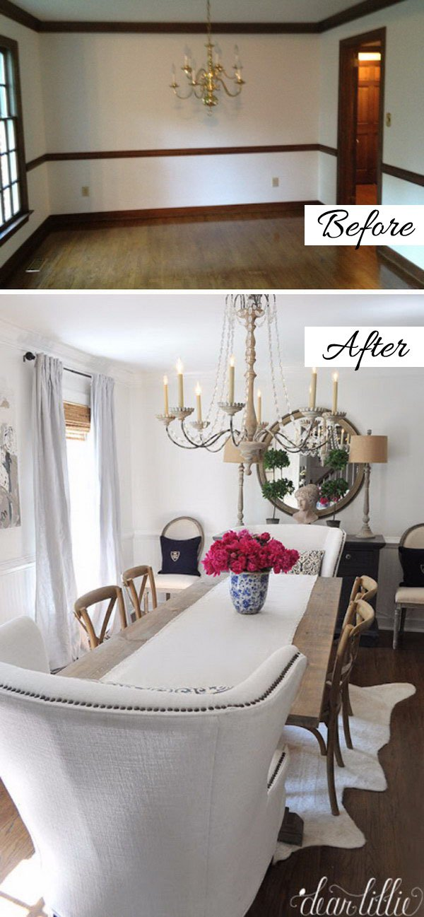 33 34 Dining Room Makeover Ideas Tutorials